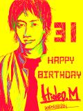 升 秀夫、Happy Birthday!!!!!