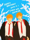 HappyBirthday Fred&George!!