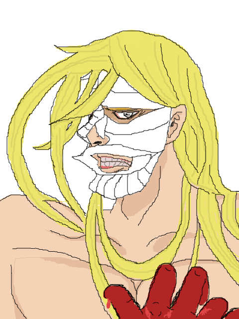 LUTHER STRODE  (fanart ) ルーサー