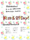 kiss&89 Day!!