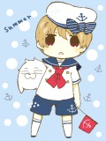 sailor suit!!
