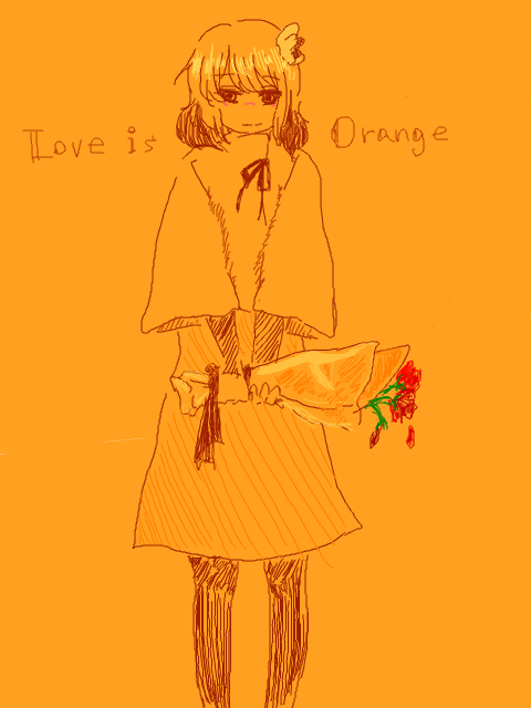 LOVE IS ORANGE